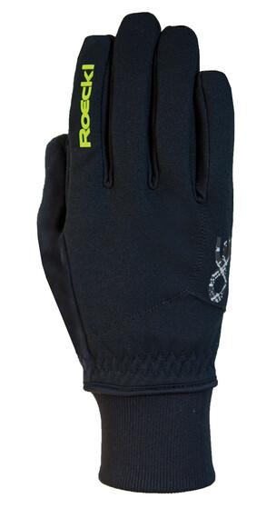 Roeckl Rossa Jr. Handschuhe schwarz/gelb